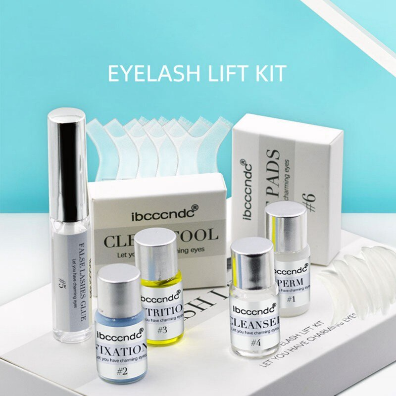 professional lash lift kit perming curling nutritious growth eyelash perming kit lashes lifting with rods glue lift pads Portable Eye Lash Lift Tool Perming Eyelash Beauty Eyelash Lift Kit With Lift Pads And Glue