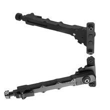 M-LOK V9 Bipod montage latéral Mlok fendu réglable côté jambes pliantes 6-8 pouces