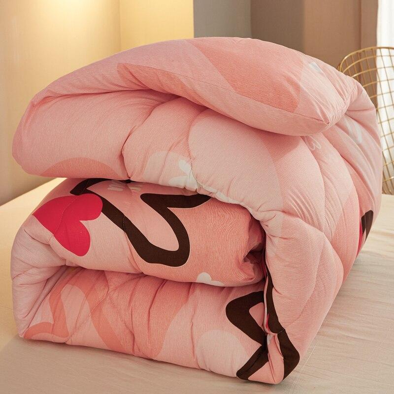 عالية الجودة الشتاء المعزي الفاخرة لينة الدافئة بطانية متعدد الألوان اختيار 100% ريشة النسيج لحاف الملك الملكة التوأم حجم