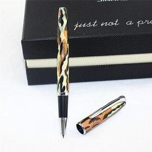JINHAO 996 Роскошная металлическая перьевая ручка, школьные и офисные принадлежности, брендовые чернильные ручки, подарок для клиента, коллеги, ...