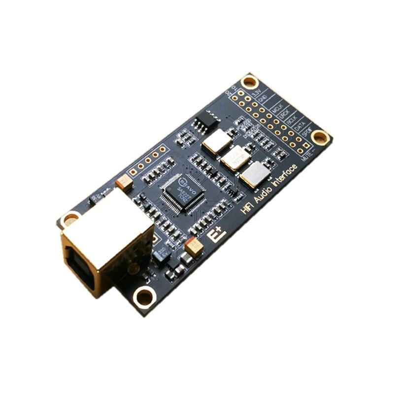 SA9227 HIF аудио USB декодер DAC дочка карта расширения для dac ak4497 es9038q2m 9038pro