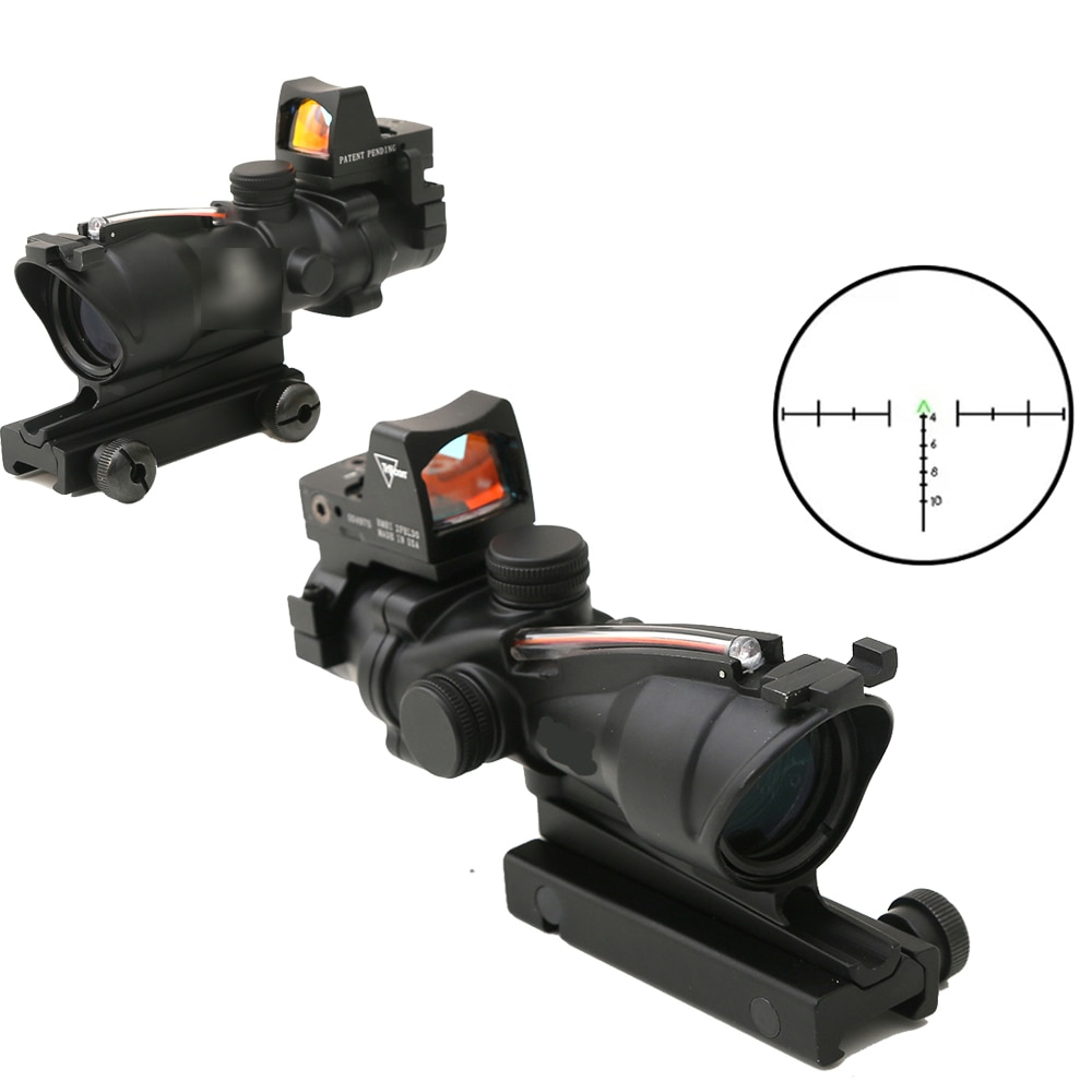 Tactical Airsoft Accessories ACOG 4X32 Kill flash for Style Red Dot Sight For Rifle Scope Hunting Accessories