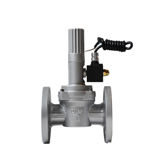 Low price threaded low Pressure aluminum alloy natural gas solenoid valve G2