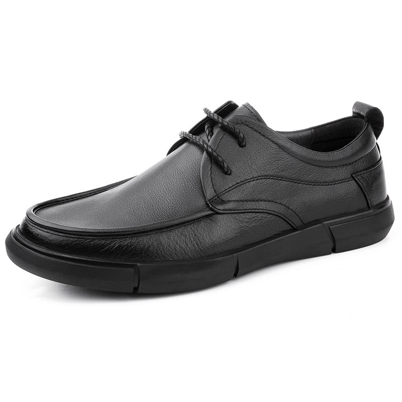 Soft Bottom British High Quality Genuine Leather Breathable Business Casual Shoes Driving Shoes Men designer shoes men spring