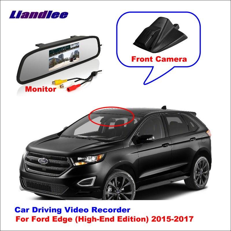 Liandlee para Ford Edge (edición de gama alta) 2015-2017 DVR del coche de conducción grabadora de vídeo, Mini cámara Wifi Dash Cam 96655 de 1080P
