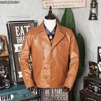 akoosun 2021 mens clothing genuine cowhide leather jacket men new motorcycle jackets male autumn coat erkekler ceket lxr710