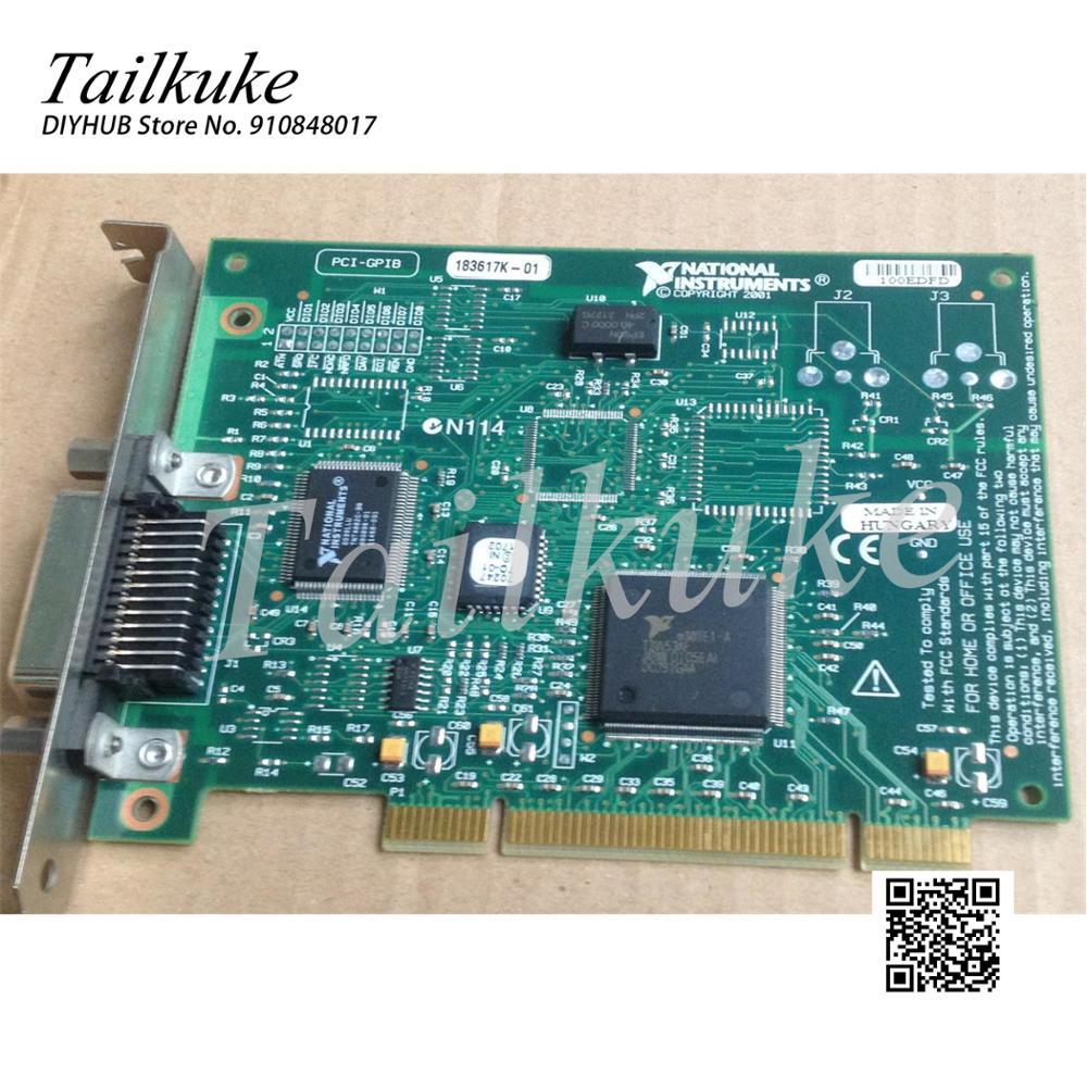 الأصلي ني PCI-GPIB GPIB IEEE 488.2 Kcal 97 98 الطبعة