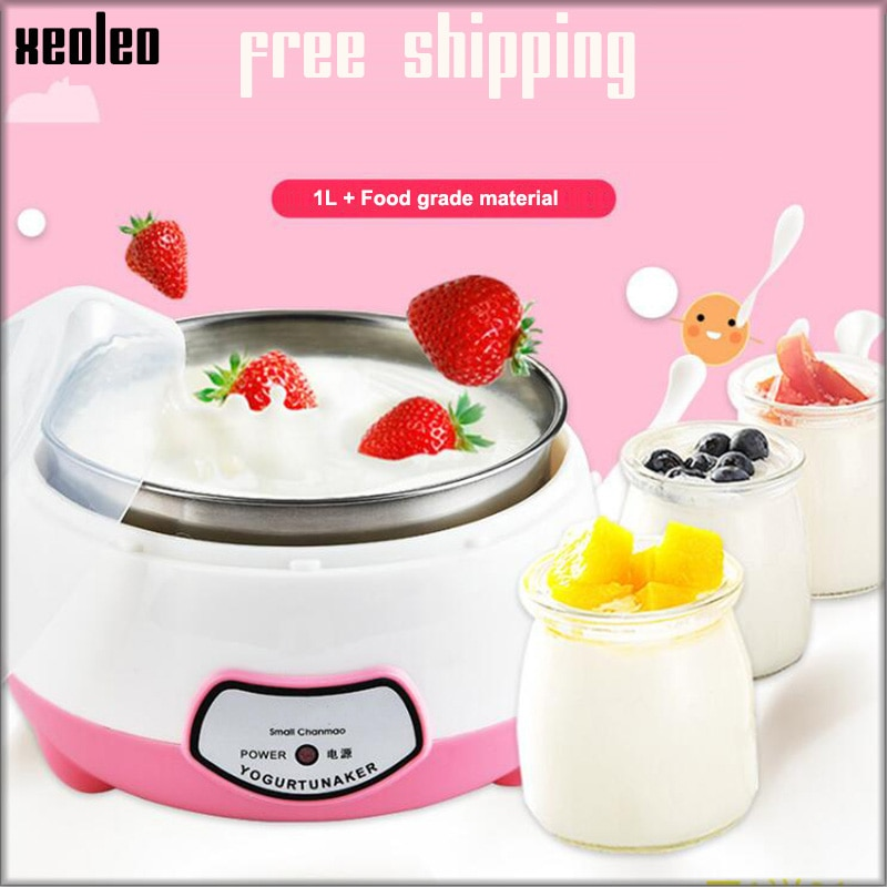 XEOLEO Yogurt maker Mini Automatic Yogurt machine Household DIY Yogurt tools Kitchen appliance Stain