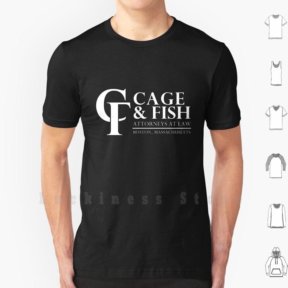 Camiseta de algodón para 100%, camisa con estampado de Alien Mcbeal, jaula...