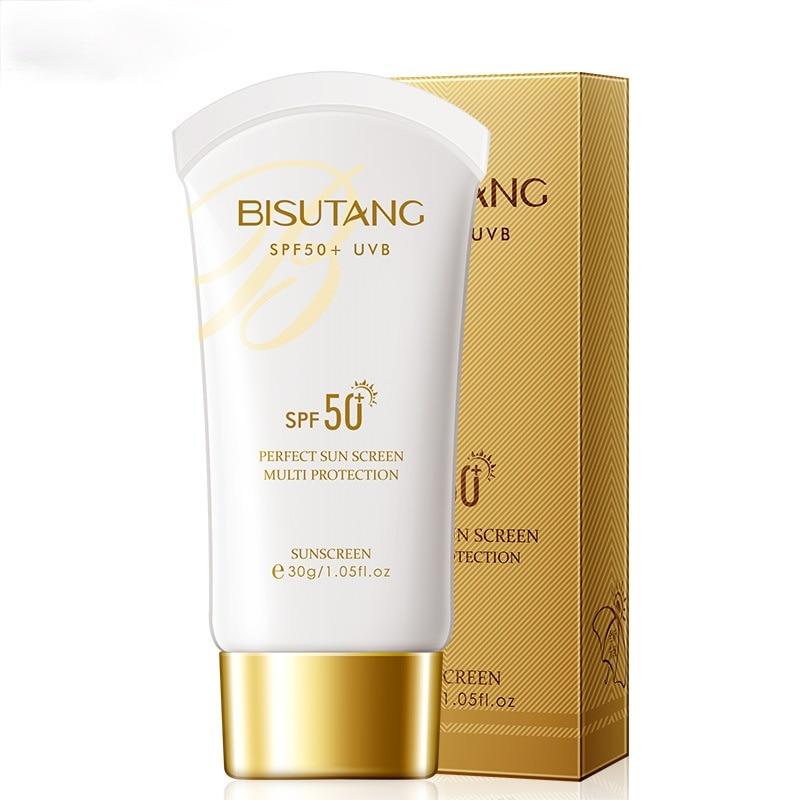 Sunscreen 30g Whole Body Isolation UV SPF50 Plus Refreshing Non-greasy Waterproof Anti-sweat Skin Ca