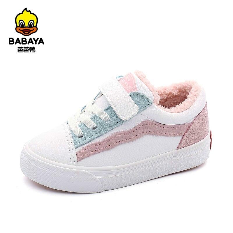Babaya-أحذية شتوية للأطفال ، أحذية شتوية مخملية دافئة للأطفال من سن 1 إلى 6 سنوات ، 2020