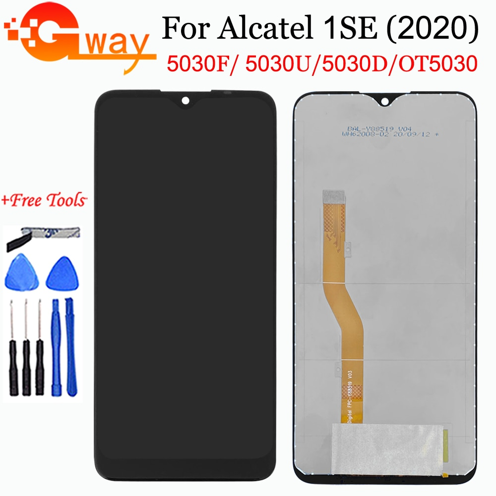 For Alcatel 1 SE 1SE 2020 LCD Alcatel OT5030 5030 5030D 5030F LCD Display Touch Screen Digitizer For