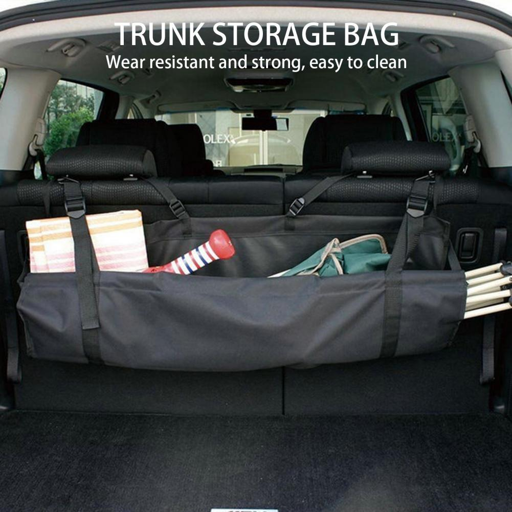 Wearable Car Gadget Large Capacity Back Seat Organizer Hanging Storage Pocket Auto parts