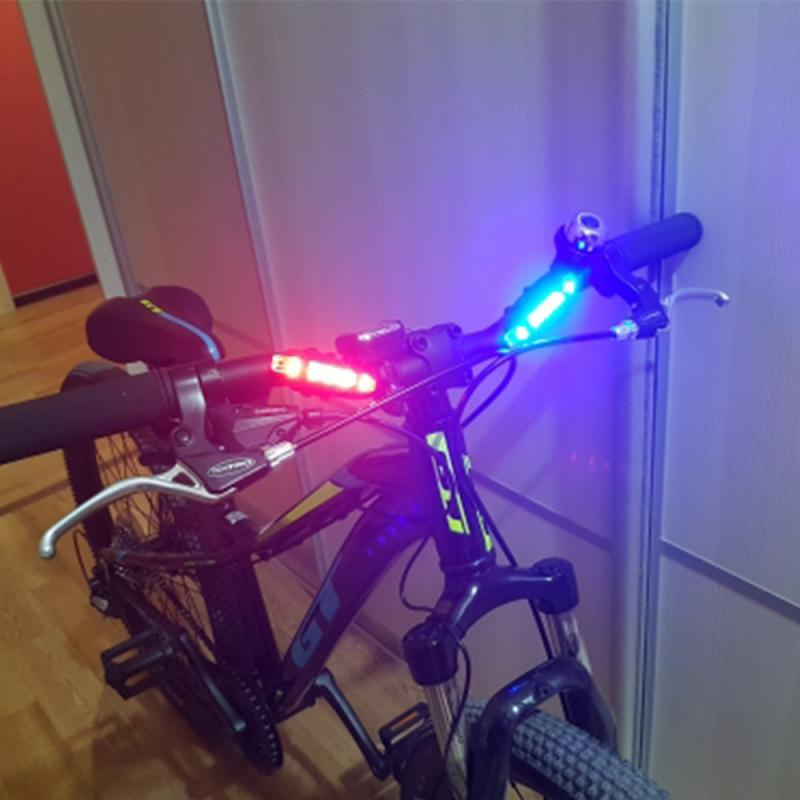 vertvie safety bicycle lights warning rear lamps usb rechargeable tail light waterproof mountain bike riding cycling accessories Bicycle Light Waterproof Rear Tail Light LED USB Rechargeable Mountain Bike Cycling Light Taillamp Safety Warning Light TSLM2