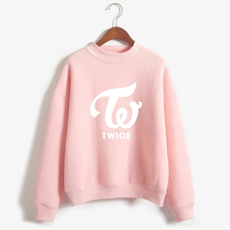 New Blackpink Hoodies Women Warm Hoodies Twice Wanna One Got7 Sweatshirts Harajuku Ladies Monsta X Female Fan Hoodie