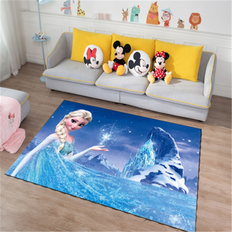 80x160cm  Playmat Door Mat Kids Boys Girls Game Mat Carpet Mickey  Mouse Bedroom Kitchen Carpet Indoor Bathroom Mat Gift