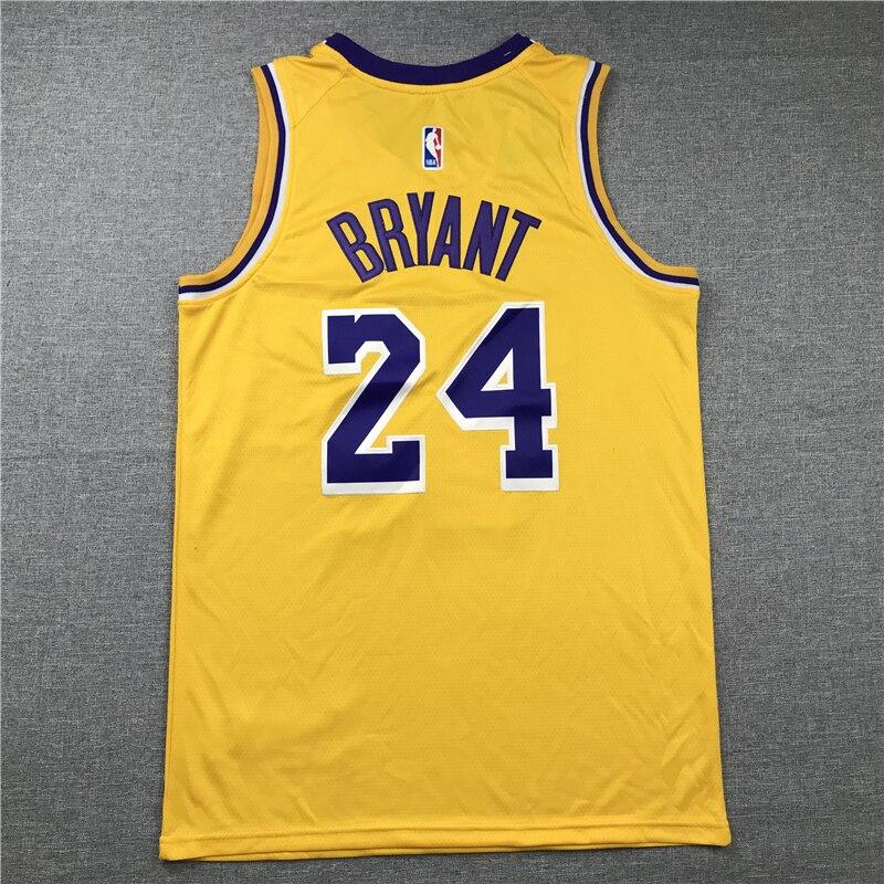Kobe Bryant-camisetas de baloncesto de Los Ángeles para hombre #24 edición conmemorativa......