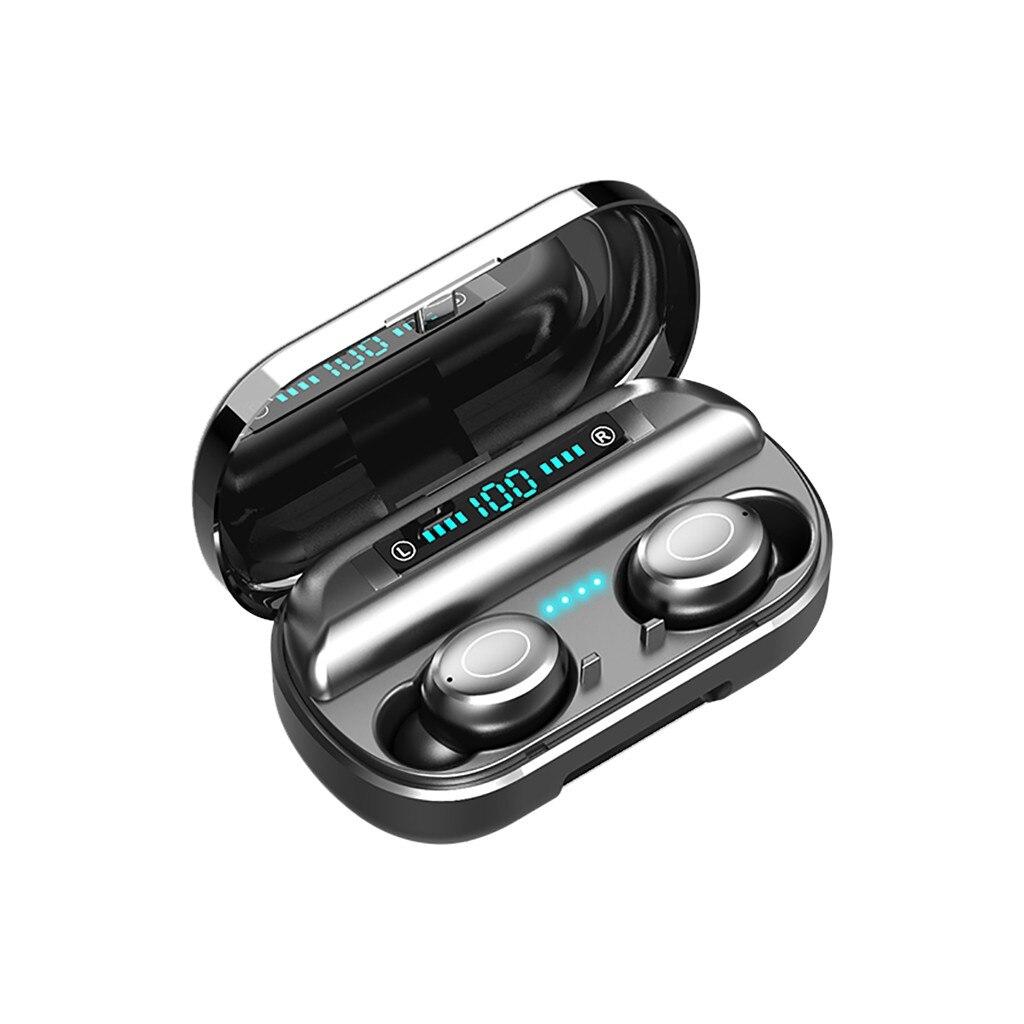 #20 drahtlose Kopfhörer Bluetooth 5 Headset TWS Mini Stereo Sport Earbuds HD Anruf Sport Lauf Kopfhörer