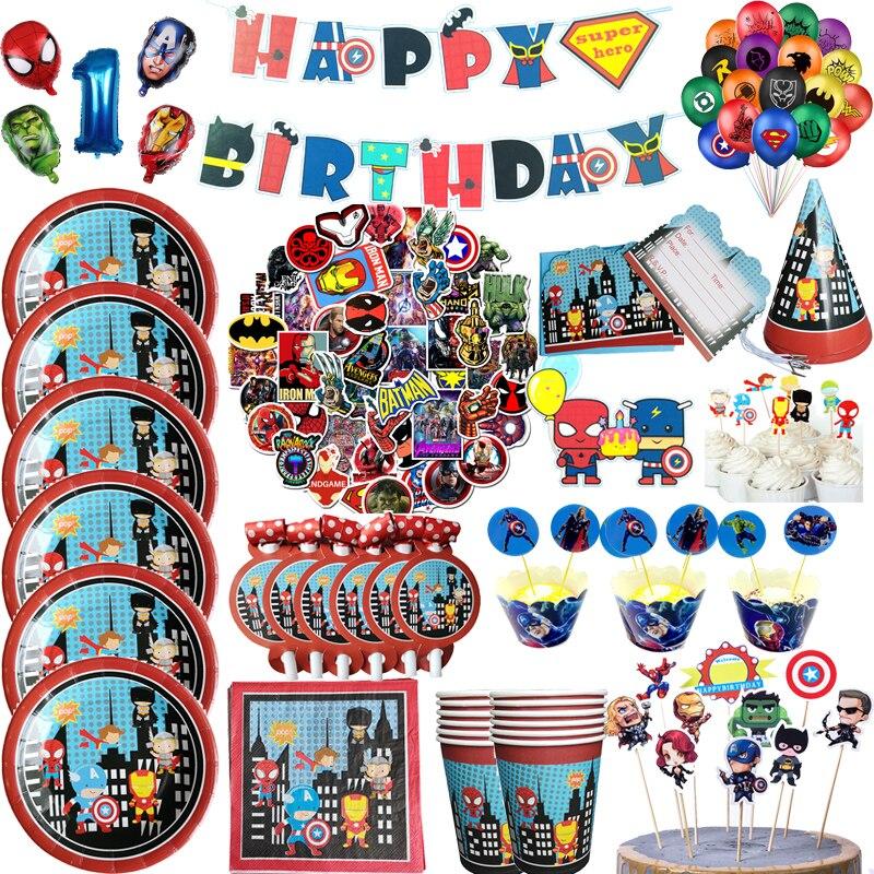 los-vengadores-fiesta-de-superheroes-vajilla-desechable-marvel-placa-globo-de-copa-los-ninos-fiesta-de-cumpleanos-decoracion-para-fiesta-de-bienvenida-de-bebe-suministros