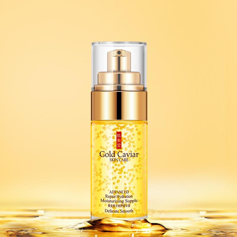 24-k Golden deep sea caviar Essence anti wrinkle serum skin care lifting visage skin serum face serum skin whitening serum