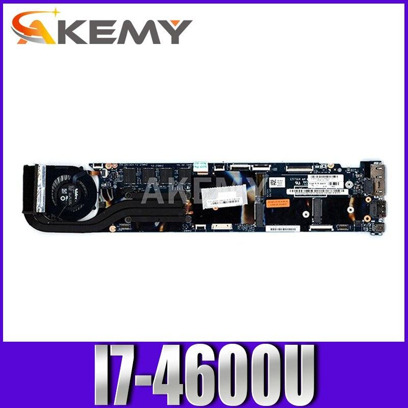 اللوحة لابتوب لينوفو ثينك باد X1C X1 الكربون I7-4600U 8G اللوحة 00UP985 00HN757 00HN758 00HN770 12298-2 48.4LY06.021