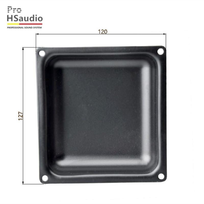 ProHSaudio (8Pcs/Lot) HS7110 Manufacturers Produce Small Iron Box Speaker Iron-Bottomed Box Vertical Audio Mosaic Box 127 x 120 enlarge