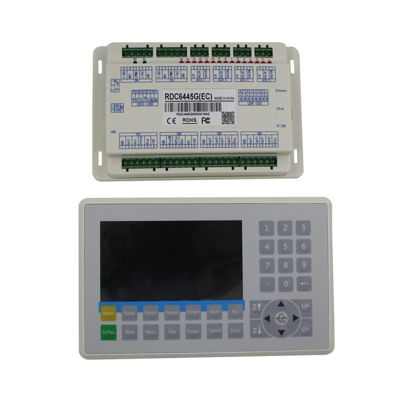 Sistema de control láser CO2 DSP RDC6445G Ruida de alta calidad con panel de control CNC para máquina de grabado y corte láser CO2