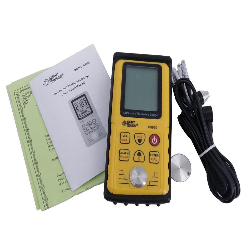 Ultrasonic Thickness Meter AR860, handheld thickness meter, ultrasonic thickness gauge enlarge