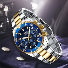 Mens Watches Top Brand Luxury Sports Chronograph Waterproof Analog 24 Hour Date Quartz Watch Men Rolexable Wrist Watches Clock