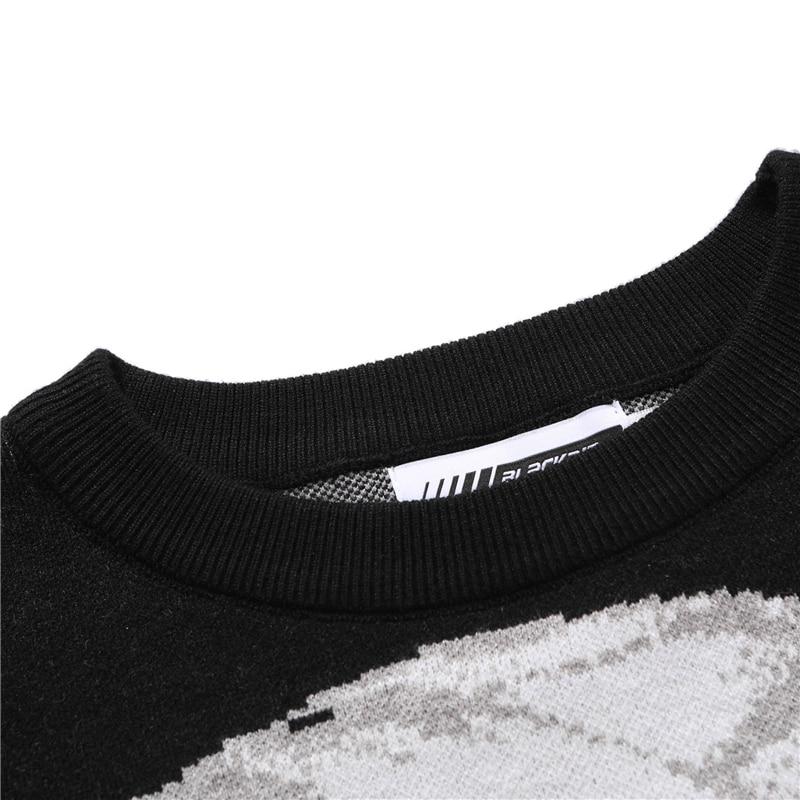 Vyriški hiphopo gatvės drabužiai, harajuku megztinis, senovinis - Vyriški drabužiai - Nuotrauka 4