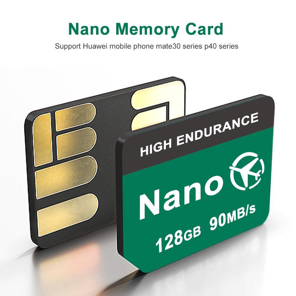 ¡Novedad de 2020! Tarjeta de memoria Nano de 90 MB/s y 128GB para 5G Huawei P40 P30 P30 Pro Mate30 Mate30Pro Mate20 Pro Mate20 X