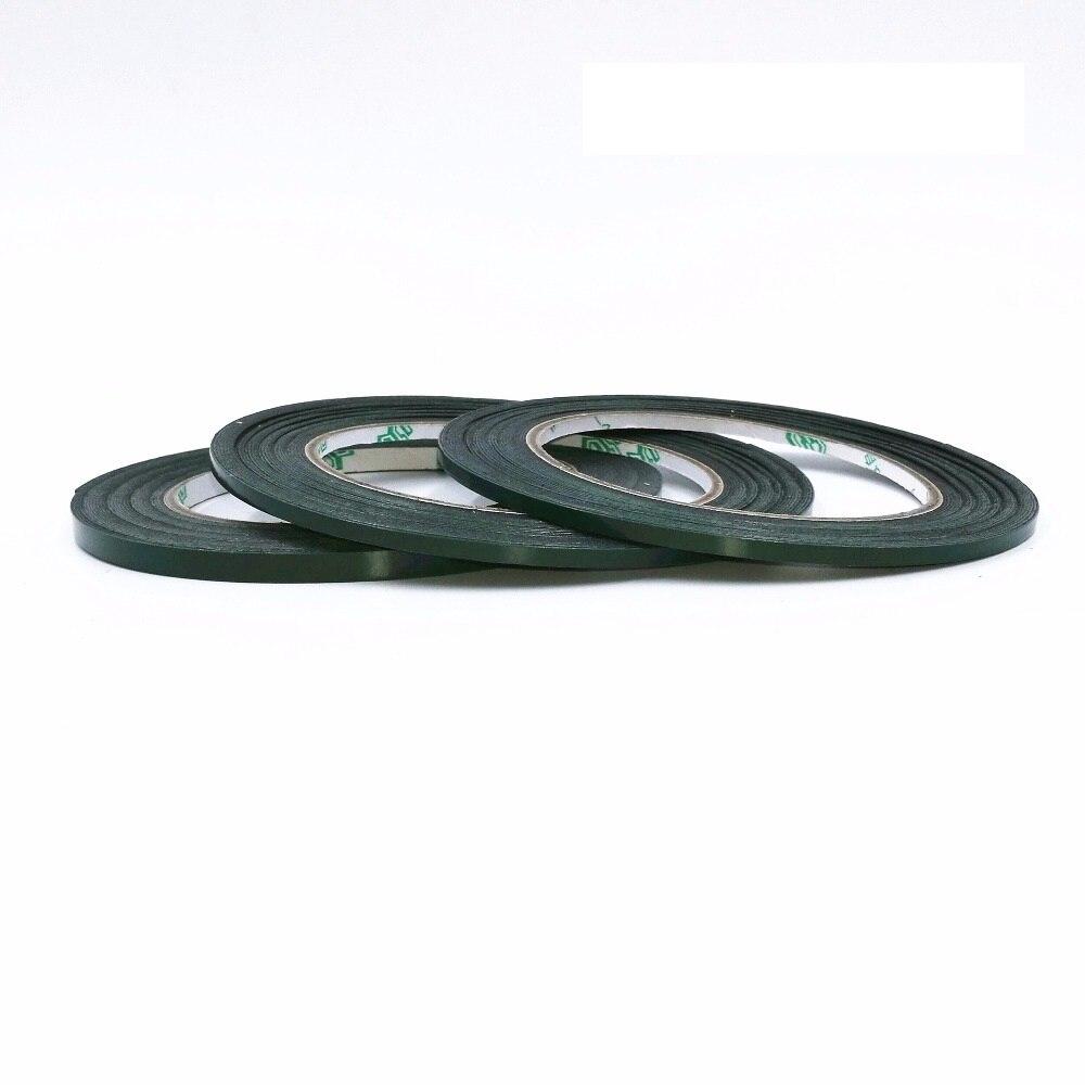 1 rollo de pantalla de teléfono móvil de reparación de la cinta adhesiva de doble cara de espuma de cine y de algodón 0,5mm * 10 M decoración de coche a prueba de golpes a prueba de cinta de sellado