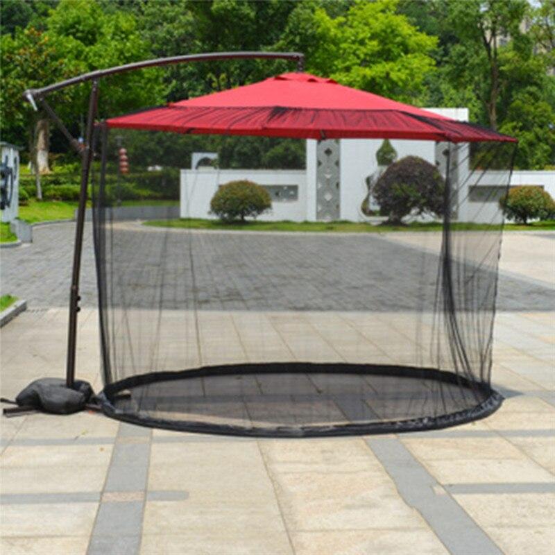 ناموسية غطاء مظلة للفناء ، 300 × 230 سنتيمتر ، شاشة فناء ، مظلة للطاولة ، أثاث الحدائق ، غطاء شبكي بسحاب