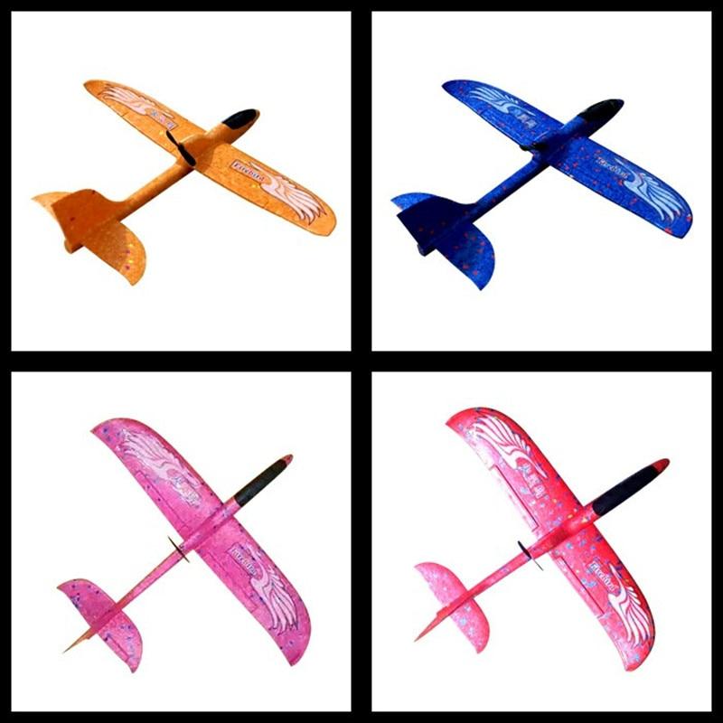 Avión de lanzamiento manual de espuma PP, Avión de lanzamiento al aire libre, Avión de juguete para niños, condensador de avión, modelo de avión, Avión de lanzamiento