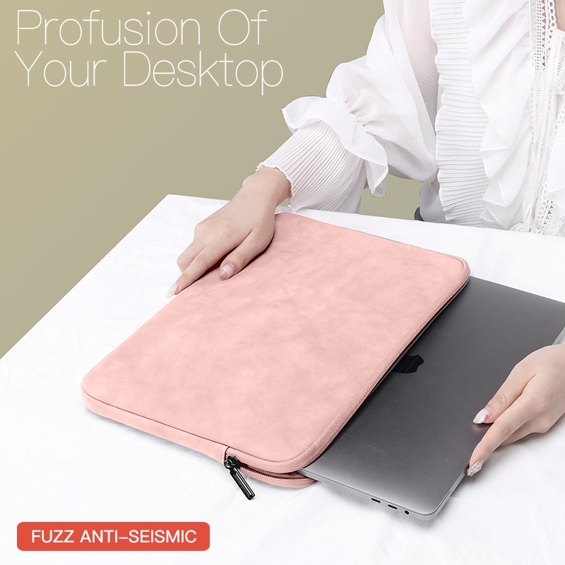 Laptop Sleeve Case 13 14 15.4 15.6 Inch For HP DELL Notebook bag Carrying Bag Macbook Air Pro 13.3 Shockproof Case for Men Women