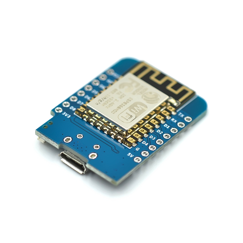 100pcs ESP8266 ESP-12 CH340G CH340 V2 USB WeMos D1 Mini WIFI Development Board D1 Mini NodeMCU Lua IOT Board 3.3V With Pins enlarge