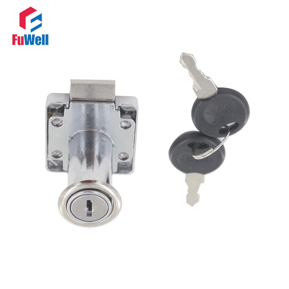 De Metal de cerradura de seguridad para cajón 19x38mm cilindro de cerradura con llave iguales o diferentes cerradura de la puerta cajón armario empotrado