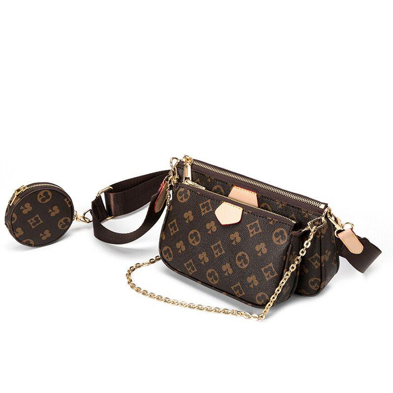 Fashion Brand Designer 3-IN-1 Messenger Handbags For Women 2020 Purses And Handbags Luxury Designer Bag PU Leather tote bags