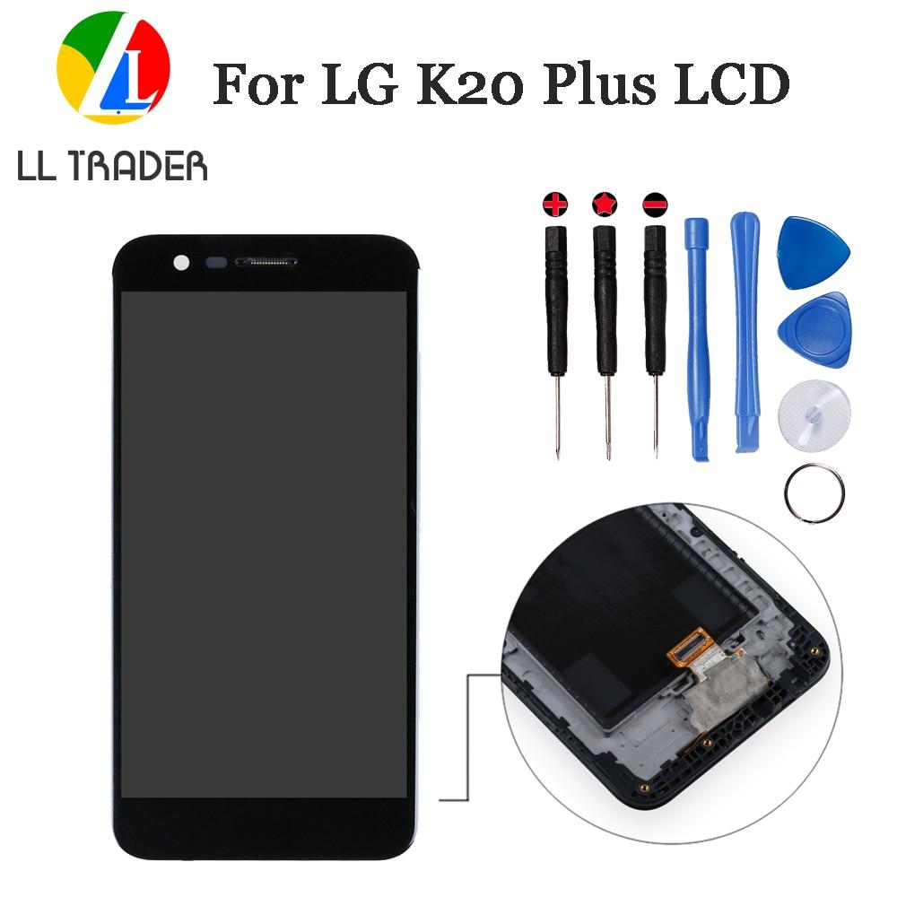 No muerto para LG K20 Plus pantalla táctil de reemplazo para LG K10 2017 MP260 TP260 LCD pantalla táctil digitalizador montaje + herramienta