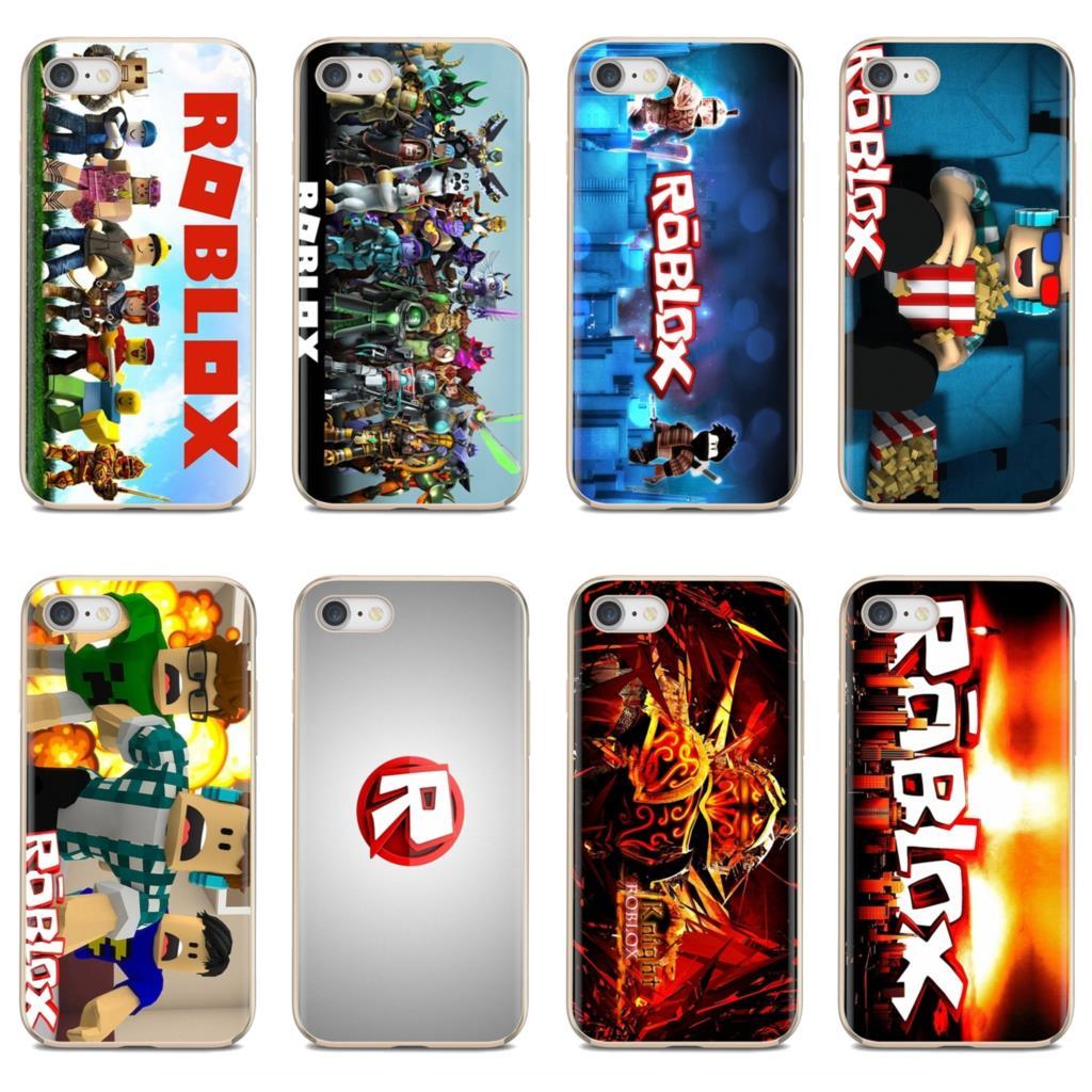 Игровой Логотип Roblox постер для iPod Touch для iPhone 11 Pro 4 4S 5 5S SE 5C 6 6S 7 8 X XR XS Plus Max силиконовый чехол