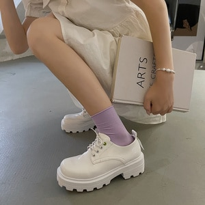 2021 New Women PU shoes lolita High heels Uniform Gothic College Students JK cosplay Harajuku High heels Mary Jane Shoes