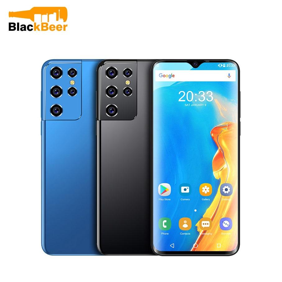 UNIWA M6501L Android 6.0 Mobile Phone 6.52 Inch Screen 1G RAM 16G ROM MTK6735 Smartphone Dual SIM Dual Standby Cellphone 2700mAh