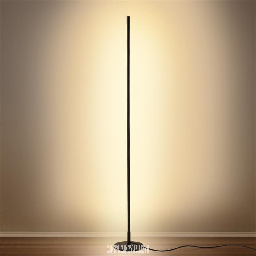 J001 Minimalism Creative Personalized Atmosphere Vertical Led Standard Lamp Sitting Room Bedside Study Living Room Floor Lamp