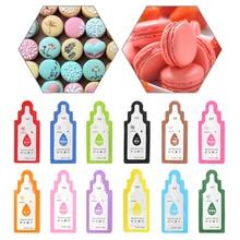 1 set Essbare 12 Farben Pigment Macaron Creme Lebensmittel Färbung Fondant Kuchen Dekorieren Backen Gebäck ToolsFood Pigment