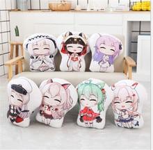 Anime peluche oreiller Azur Lane dessin animé impression oreiller cosplay adulte enfants Kawaii oreiller