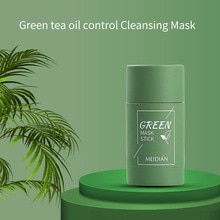 Newest Cleansing Green Stick Green Tea Stick Mask Purifying Clay Stick Mask Oil Control Anti-acne Eg