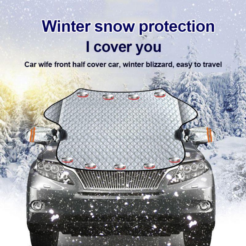 Cubierta de parabrisas de coche pantalla de la ventana de Coche magnético heladas hielo gran nieve polvo escudo Protector de coche Sunshades cubiertas