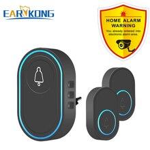 Intelligent Wireless Doorbell Home Welcome Doorbell Waterproof 300m Remote Smart Door Bell Chime EU