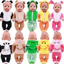 Doll Clothes Unicorn Flowers Dress Fit 18 Inch American&43 CM Reborn New Born Baby Doll OG Girl Doll