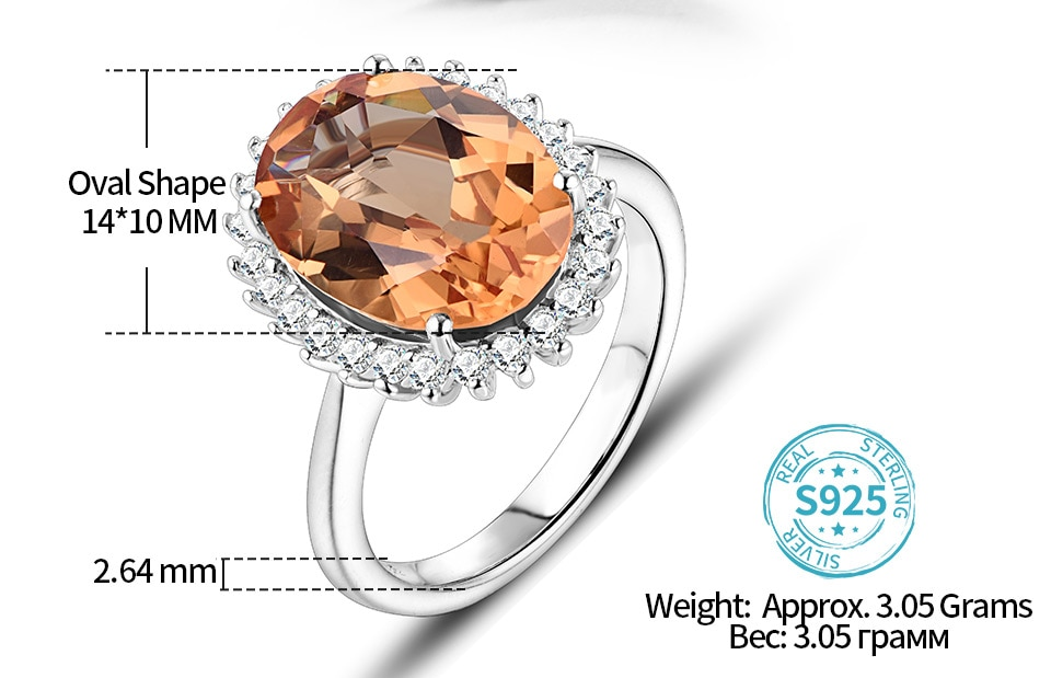 ATTAGEMS Solid 925 Sterling Silver Rings For Women Girl Diaspore Zultanite Sultanite Gemstone Christmas Gift Part Fine Jewelry